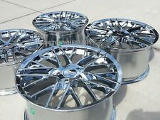 Chrome ZR1 Style Corvette Wheels FITS: 2005-2013 C6 BASE 18x8.5/19x10""
