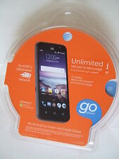 BRAND NEW AT&T GoPhone - ZTE Maven 4G with 8GB Memory No-Contract Cell Phone