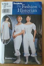 Simplicity 9769 Sewing Pattern, Size (6-8-10-12) The fashion Historian