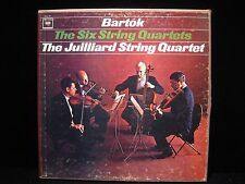 Bartók The Six String Quartets Columbia Masterworks D3L 317 3 x Vinyl Box Set