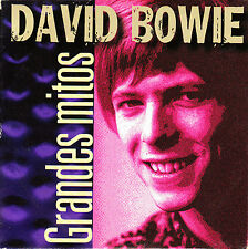 CD SINGLE EP grandes mitos DAVID BOWIE space oddity SPANISH 2000 5-TRACKS