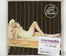 (J484) The Long Blondes, Weekend Without Make Up- DJ CD