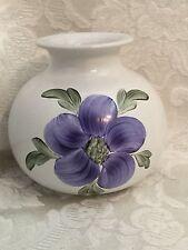 Porta Celi Spain Hand Made Art Pottery Stoneware Vase Spanish Vintage