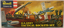 MISSILES : U.S. ARMY TACTICAL ROCKETS SET MODEL KIT BY REVELL 1963 1:72 (MLFP)
