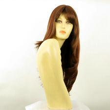 Perruque femme longue Châtain Cuivré Méché Blond Clair/rouge WENDY 33H130