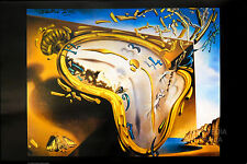 SALVADOR DALI - SOFT WATCH AT THE MOMENT OF EXPLOSION POSTER (61x91cm)  NEW
