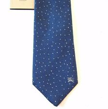 L-2412974New Burberry London Men's Dusty Blue Polka Dot Tie Necktie