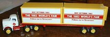 World's Fair '82 Knoxville, TN Container Winross Truck