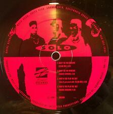 """SOLO don't be no hoochie / why'd you play me out 12"""" VG+ Private Random Rap 1993"""