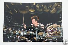 Terry Bozzio Drumer The Black Page 20x30cm Bild + Autogramm /Autograph in Person