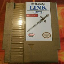 Zelda II - Part 3 Nintendo (NES) w/ Dust Cover *NEW*