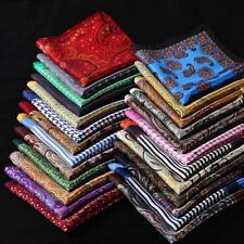 30 Pcs /Lot Wholesale Men Handkerchief Silk Pocket Square Polka dot stripe Party