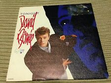 "DAVID BOWIE - SPANISH 7"" SINGLE SPAIN PROMO EMI 84 - TONIGHT"