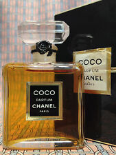 Vintage early 90s Chanel COCO 1/2 oz 14 ml Pure Parfum SEALED Boxed OLD FORMULA