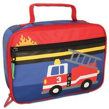Stephen Joseph Firetruck School Lunch Box for Kids - Lunch Bag for Boys