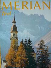 Tirol Reiseführer MERIAN Sammlerheft 74