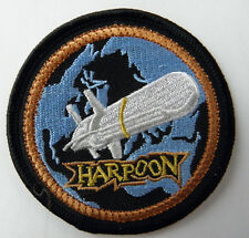 US NAVY HARPOON SURFACE TO SURFACE ARM PATCH