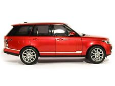RANGE LAND ROVER SUV 4x4 2013 red rot met Welly GTA Highend Edition 1:18