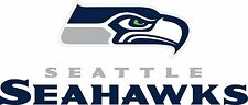 SEATTLE SEAHAWKS Logo ~ Window WALL DECAL * Vinyl Car STICKER ~ ANY COLORS