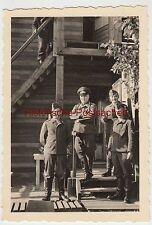 (f2534) ORIG. foto tilburg (NL), fuerza aérea-soldados en edificios de madera 1940er