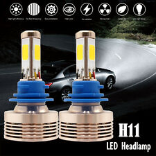 120W 12000LM H8/H9/H11 LED Conversion Kit 6000k 6k Xenon HID Pure White  4 Sided