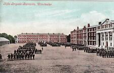 Rifle Brigade Barracks Winchester Peninsula Sq Military unused old pc Valentines