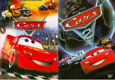 2 DVD-SET Disney Cars (2006) & Cars 2 (2011) Widescreen -Single Disc