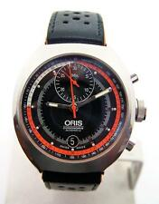 S/Steel Mens ORIS CHRONORIS Date Automatic Watch 7564 Cal 672* MINT Condition