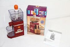 Nostalgia Electrics NBM400 Homemade Natural Peanut Butter Maker Machine COMPLETE