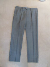 "Tommy Hilfiger checked Grey trousers  sz 54(suit) 38"" waist  wool  & Silk"