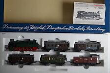 Fleischmann HO 4881 Zugset Personenzug Preussen BR 8177 KPEV  (CD/003-124S9/7)