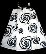 Baby Gap Havana Ivory Black Cantina Roses Dress Girl Size 5 Gorgeous