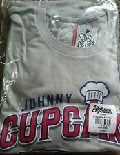 Johnny Cupcakes Shirt Kitchen Angels Anehiem Sports Jersey MLB SEALED 2016 XL