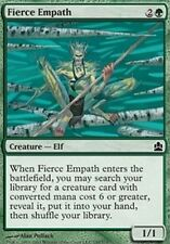 2x Empatico Spietato - Fierce Empath MTG MAGIC Com Commander Eng