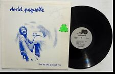 DAVID PAQUETTE: Live At The Pioneer In LP TRIM RECORDS Hawaii 1976 Signed VG+