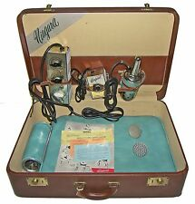 【RARE】50's Niagara Model 10 Thermo Cyclopad Massage System/Hand Unit-Case!~WORKS