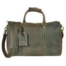 Kazami Vintage Genuine Leather Gym/HoldAll/Laptop Bag RRP £195.00