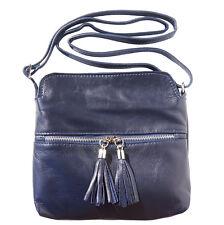 Borsa a Tracolla Cuoio Pelle Leather Crossbody bag Italian Made In Italy 6110