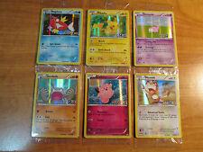 Pokemon TOYS R US Promo MAGIKARP+PIKACHU+SLOWPOKE+GEODUDE+CLEFAIRY+MEOWTH Card