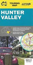 Map of Hunter Valley, New South Wales, Australia, Road, WIne, Rec,  by UBD