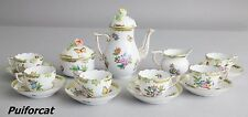 Herend Queen Victoria Coffee Set 6 persons 15 pc
