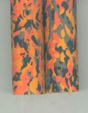 "2 Eva Foam Orange Camo Fishing Rod Grips 20"" Tools Gaffs Bikes"