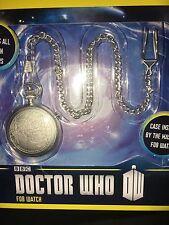 Doctor Who 50th ANNIVERSARIO 11 MEDICI Fob Orologio con catena in metallo