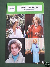 DANIELLE DARRIEUX - MOVIE STAR - FILM TRADE CARD - FRENCH -#1