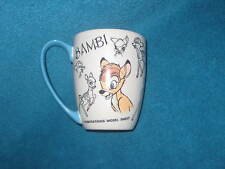 DISNEY STORE Bambi Coffee Cup. Brand New.
