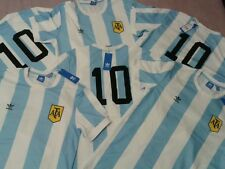 UNIQUE ADIDAS ARGENTINA JERSEY ORIGINALS WORLD CUP RETRO MESSI MARADONA NEW