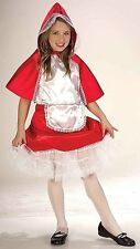 Little Red Riding Hood Crinoline Girls Child Halloween Fancy Dress Party Costume