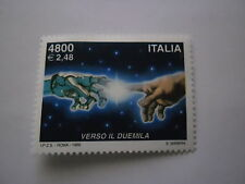 AVVENTO DEL 2000 1999 4800 LIRE - 2,40 EURO VALORE NUOVO REPUBBLICA ITALIANA -T-