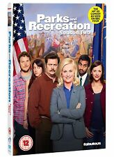 Parks and Recreation: Season 2 - UK DVD NEW & SEALED (4 Discs)   (series/second)