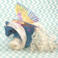 """My Little Pony Vintage G1 """"Glow"""" Summer Wing Ponies Rehair Perm (#02)"""